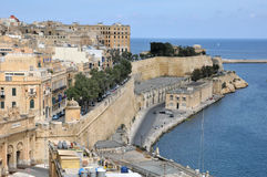 Malta, the picturesque city of Valetta. Republic of Malta, the picturesque city of Valetta Royalty Free Stock Photo