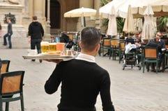 Malta, the picturesque city of Valetta. Republic of Malta, the picturesque city of Valetta Stock Photo