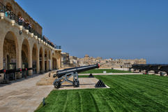 Malta, the picturesque city of Valetta Royalty Free Stock Photo