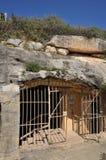 Malta, the picturesque Ghar Dalam cae in Birzebbuga Stock Photos