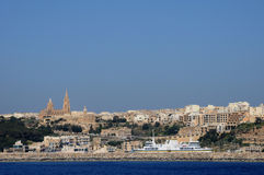 Malta, the picturesque island of Gozo. Republic of Malta, the picturesque island of Gozo Royalty Free Stock Images