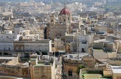 Malta, the picturesque island of Gozo. Republic of Malta, the picturesque city of Victoria Stock Photography
