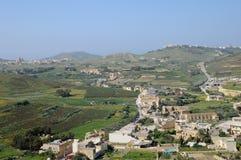 Malta, the picturesque island of Gozo. Republic of Malta, the picturesque city of Victoria Stock Photo