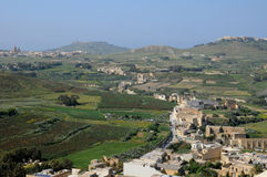Malta, the picturesque island of Gozo. Republic of Malta, the picturesque city of Victoria Stock Photography