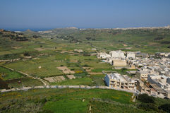 Malta, the picturesque island of Gozo. Republic of Malta, the picturesque city of Victoria Stock Images