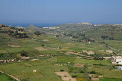 Malta, the picturesque island of Gozo. Republic of Malta, the picturesque city of Victoria Stock Photos