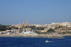 Malta, the picturesque island of Gozo Stock Photos