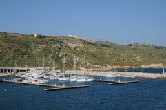 Malta, the picturesque island of Gozo. Republic of Malta, the coast near Mgarr Royalty Free Stock Image