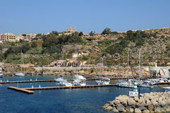 Malta, the picturesque island of Gozo Royalty Free Stock Photography