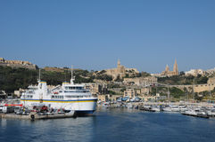Malta, the picturesque island of Gozo Royalty Free Stock Image