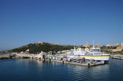 Malta, the picturesque island of Gozo Royalty Free Stock Photo