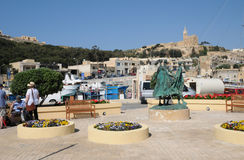 Malta, the picturesque island of Gozo. Republic of Malta, the picturesque Mgarr harbour in Gozo Stock Photo