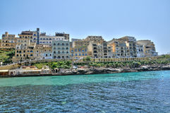 Malta, the picturesque island of Gozo. Republic of Malta, the picturesque village of Xlendi Stock Image