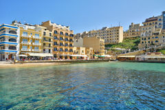 Malta, the picturesque island of Gozo Royalty Free Stock Photos