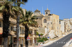 Malta, the picturesque island of Gozo. Republic of Malta, the picturesque village of Xlendi Stock Images