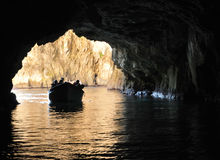 Malta, the picturesque site of Blue Grotto Stock Image