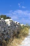 Malta poco conocida - pared del noroeste Fotografía de archivo libre de regalías