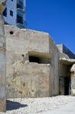 Malta poco conocida - posts de la ametralladora Imagen de archivo libre de regalías