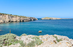 Malta's northern Coast Stock Photography