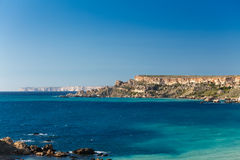 Malta's seascape Royalty Free Stock Photography