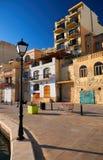 Malta-Saint Julien Bay View- 15 April 2016. Royalty Free Stock Photo