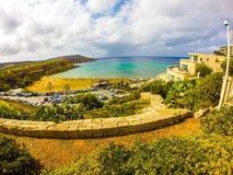 Malta. Sea front Royalty Free Stock Photo