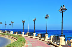 Malta seafront Stock Photography