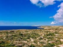 Malta sikt Royaltyfri Fotografi