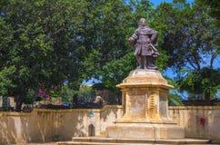 Malta - sikter av Floriana Arkivbilder