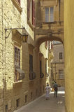 Malta, Mdina, Silent City  Royalty Free Stock Photography