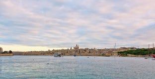 Malta - Sliema Arkivbild