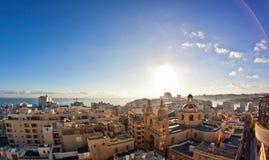 Malta - Sliema Royaltyfria Bilder