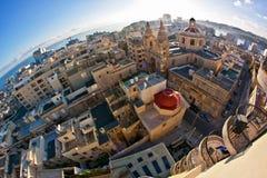 Malta - Sliema Arkivfoto