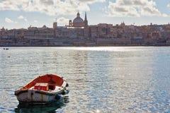 Malta - Sliema Arkivfoton