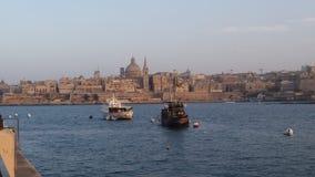 Malta. Sliema sea view Royalty Free Stock Photo