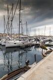 Malta small harbor Stock Photos