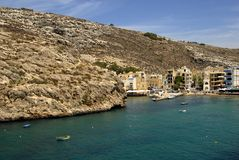 Malta. Small village in Malta at gozo island Stock Photo