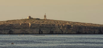 Malta - St Paul's Island Royalty Free Stock Photography