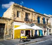 Malta-Stadtleben Stockfoto