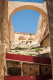 Malta. Steps View in Valleta Stock Photography