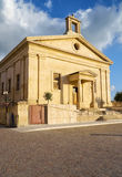 Malta Stock Exchange Casino della Borsa, Valletta, Malta. Malta Stock Exchange Casino della Borsa, the former Garrison Chapel building in Castille Square Royalty Free Stock Photos