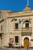 Malta, Streets of Dingli Stock Photo