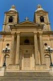 Malta, Streets of Dingli Stock Photos