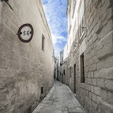 Malta - streets of mdina. At the impressive streets of mdina Stock Photos