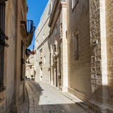 Malta - streets of mdina. Picture from the impressive streets of mdina Royalty Free Stock Photos