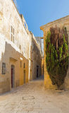 Malta - streets of mdina. On a walk trough the impressive streets of mdina Stock Images