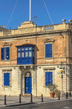 Malta - Streets of Mosta. Old architecture in the historic part of the popular town of Mosta - Malta Royalty Free Stock Photography