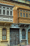Malta - Streets of St Paul's Bay. Old architecture in the historic part of the popular town of Saint Paul's Bay (San Pawl il-Bahar) - Malta Royalty Free Stock Image