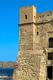 Fortifications of Malta - St Paul's Bay Stock Image