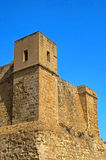 Fortifications of Malta - St Paul's Bay. The Wignacourt Tower, the oldest coastal defence post in Malta - St Paul's Bay (San Pawl il-Bahar), Malta Stock Photo